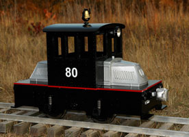 Backyard Railroad Locomotives cannonball for your backyard railroad products